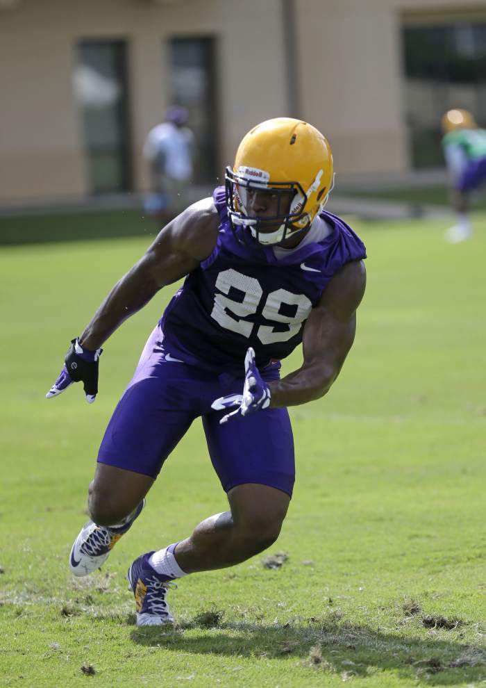 Receiver-turned-defensive back, LSU's Rickey Jefferson ready for big role _lowres