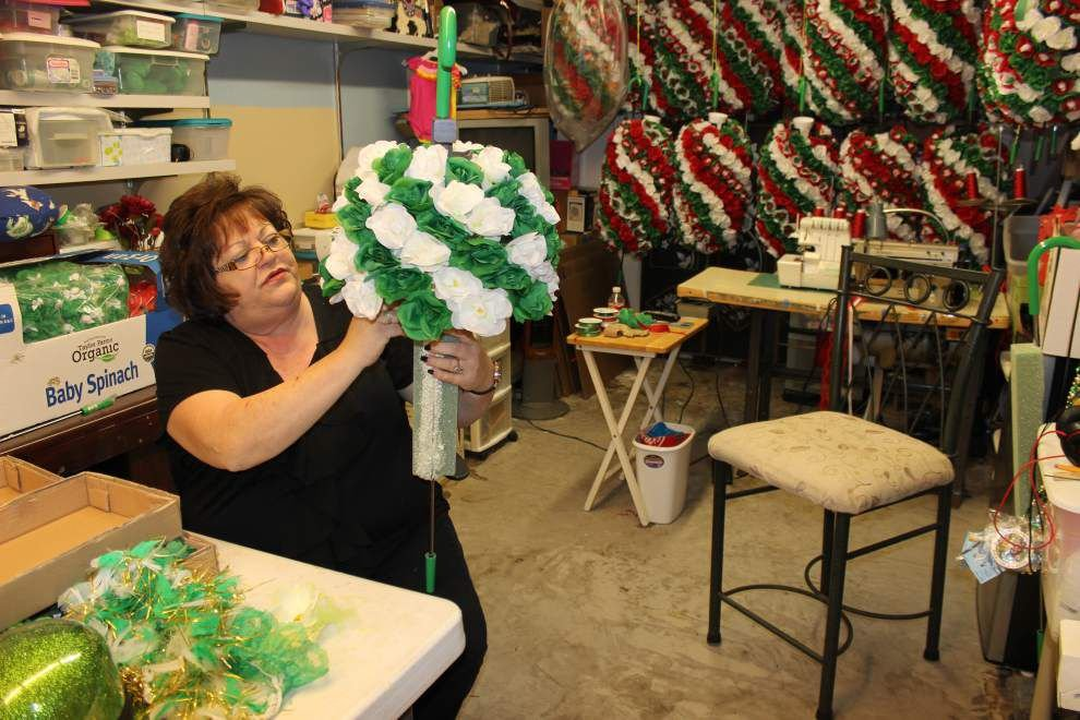 Suzy the Cane Lady: When marching clubs need silk flowers and garters, Suzy Kinkella gets the call and delivers _lowres