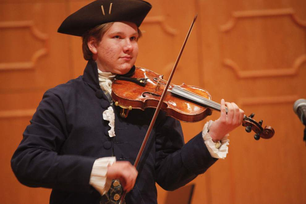 Prairieville teen wins fiddling competition _lowres