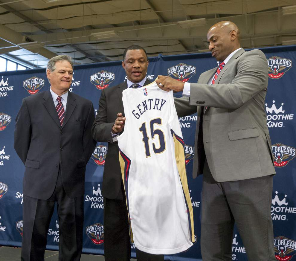 Source: Dell Demps' future with Pelicans not decided yet _lowres