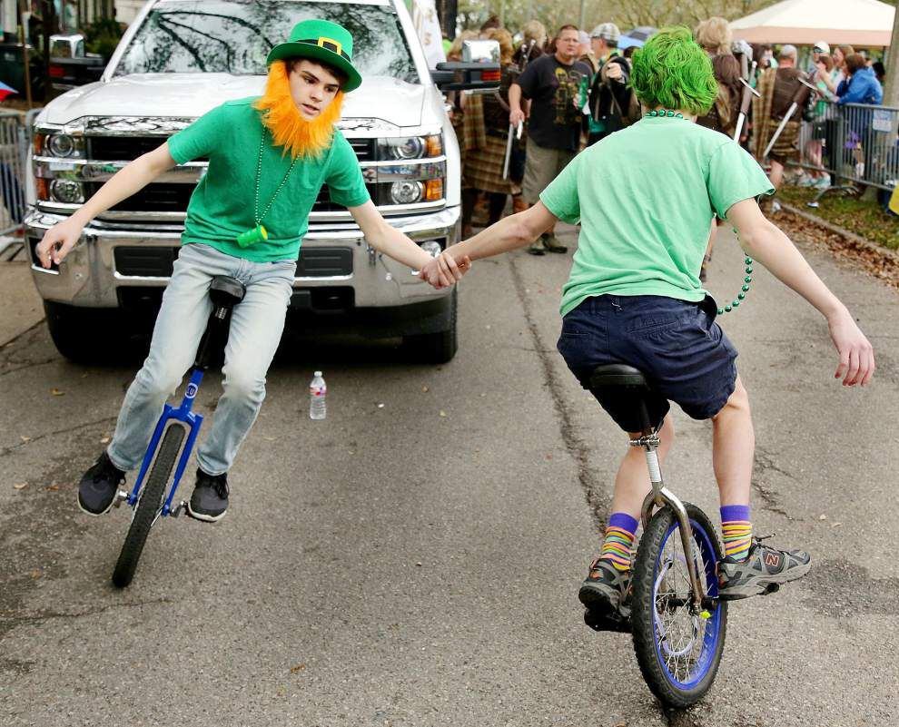 Photos: Irish Channel St. Patrick's Day parade rolls in New Orleans with plenty of cabbages, kisses to go around _lowres