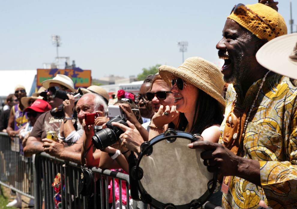 Even at Jazz Fest, White Cloud Hunters retain air of mystery _lowres
