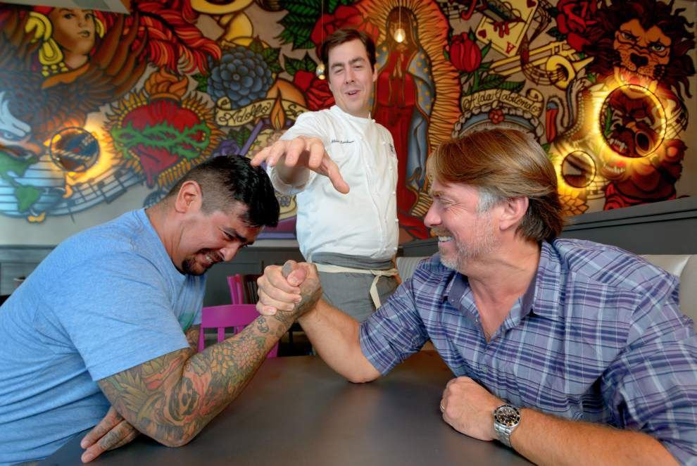 Celebrity chef friendship spawns new Mexican restaurant _lowres