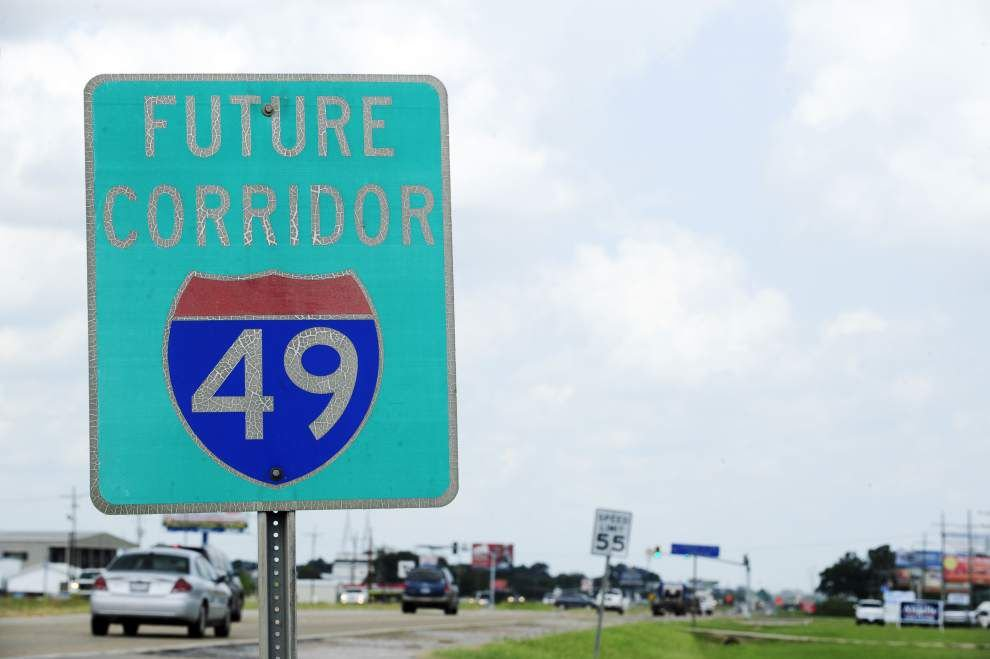 I-49 Connector supporters fear new studies of alternative Lafayette routes will delay, and may kill, the project _lowres