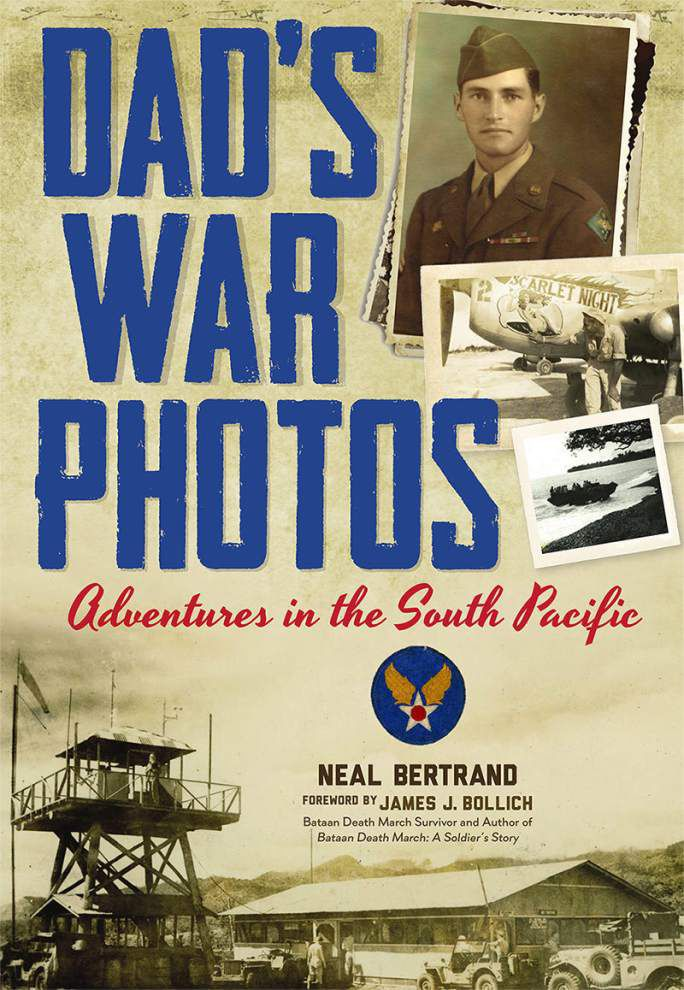 Son honors dad with 'War Photos' book _lowres