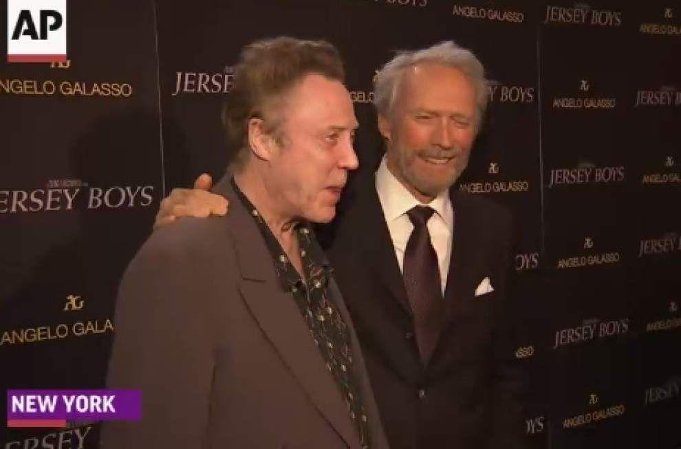 'Jersey Boys' cast lauds Eastwood's sensitivity _lowres
