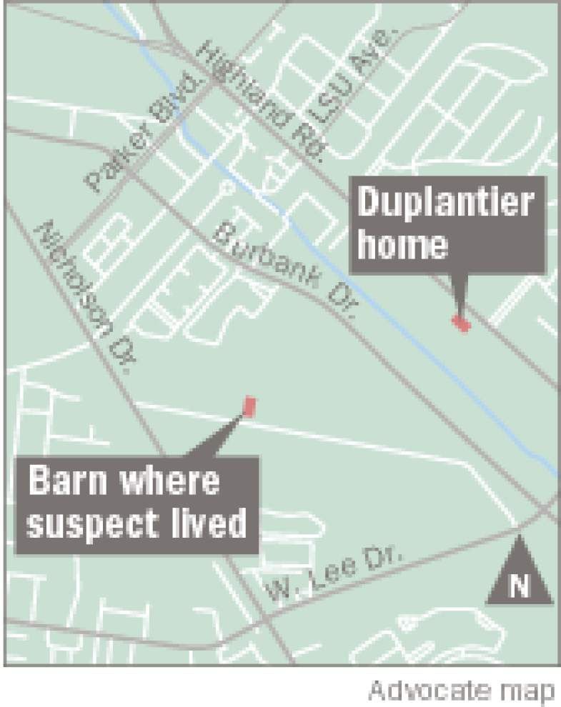 Latest on Duplantier case: Landscaper who lived in couple's barn accused of beating, robbing, strangling them _lowres
