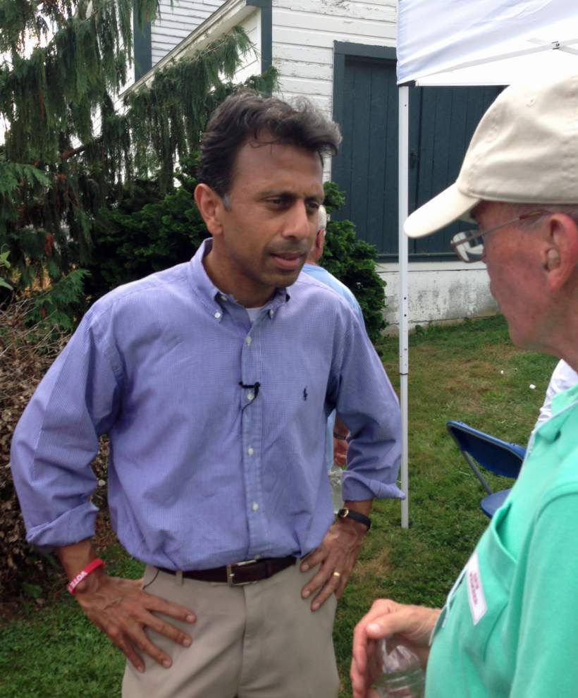 Gov. Jindal courts primary voters _lowres