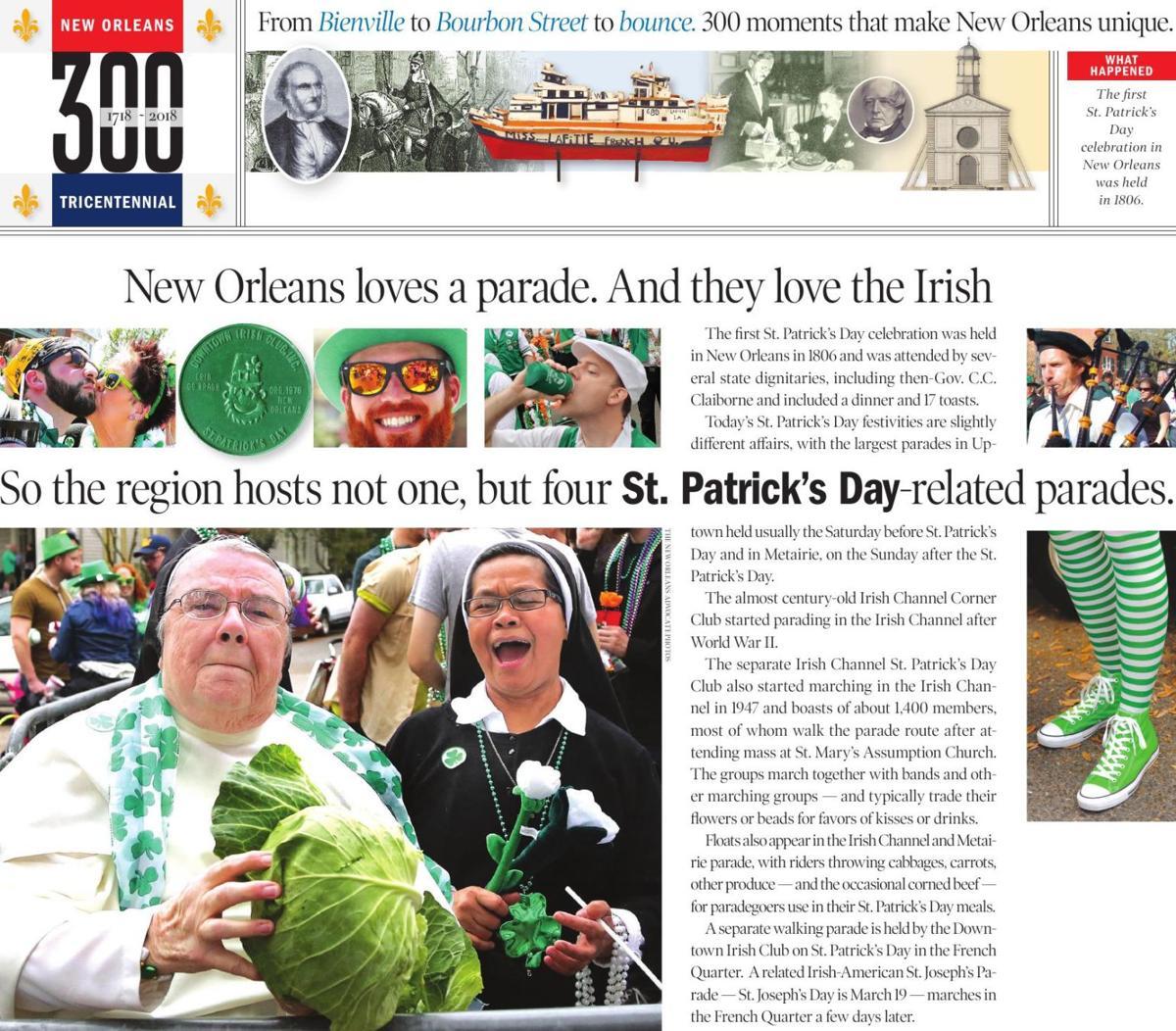 300 St. Patrick's Day