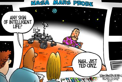 Walt Handelsman: Where will we find Ted next?
