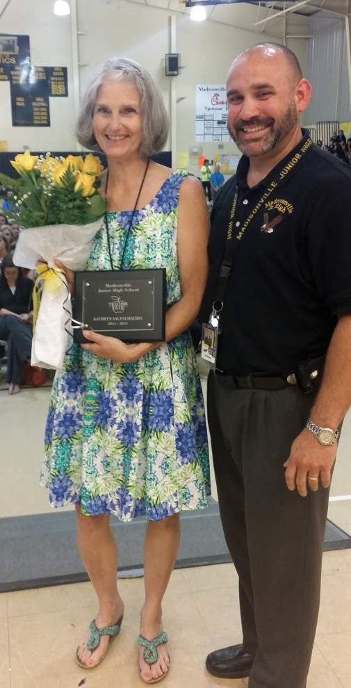 Madisonville Junior High School honors top staffers _lowres