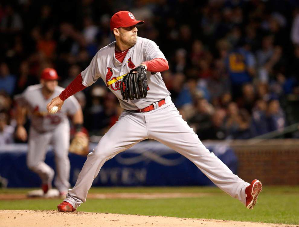 Cardinals' John Lackey seems to thrive on big games _lowres