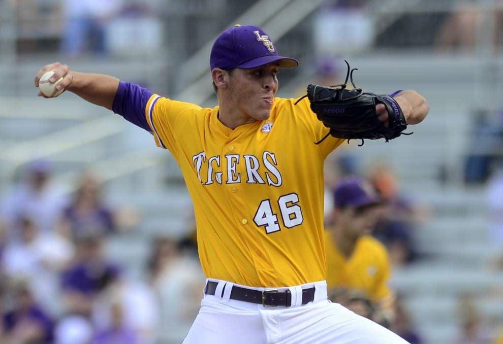 LSU baseball postgame: Vanderbilt sweeps LSU in doubleheader _lowres