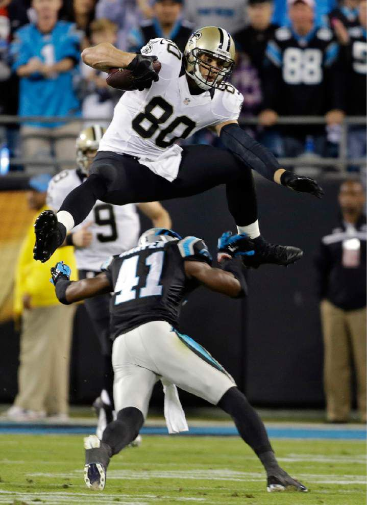 Panthers vow not to put too much focus on Jimmy Graham _lowres