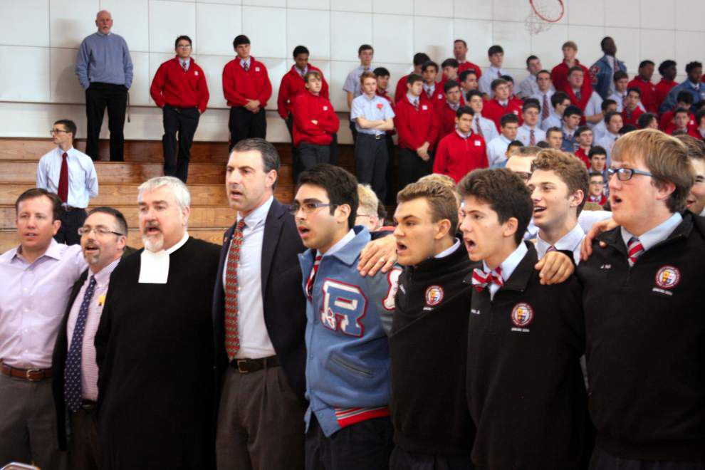 Archbishop Rummel High School celebrates Feast of the Immaculate Conception _lowres