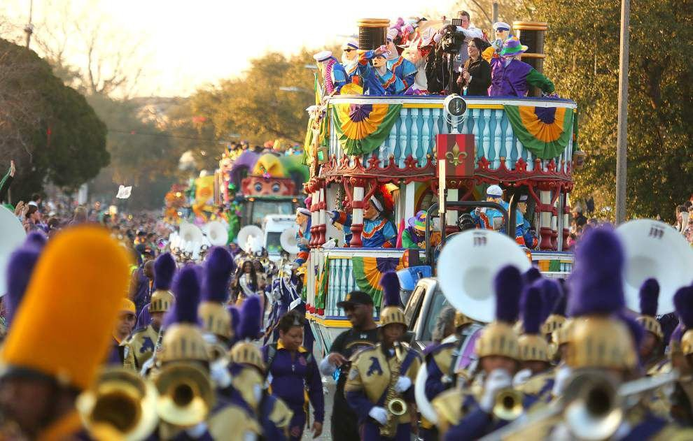 Endymion Update: Neutral ground alongside Delgado to be closed before and during parade _lowres