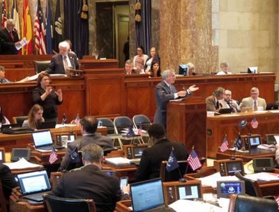 Senate state budget debate