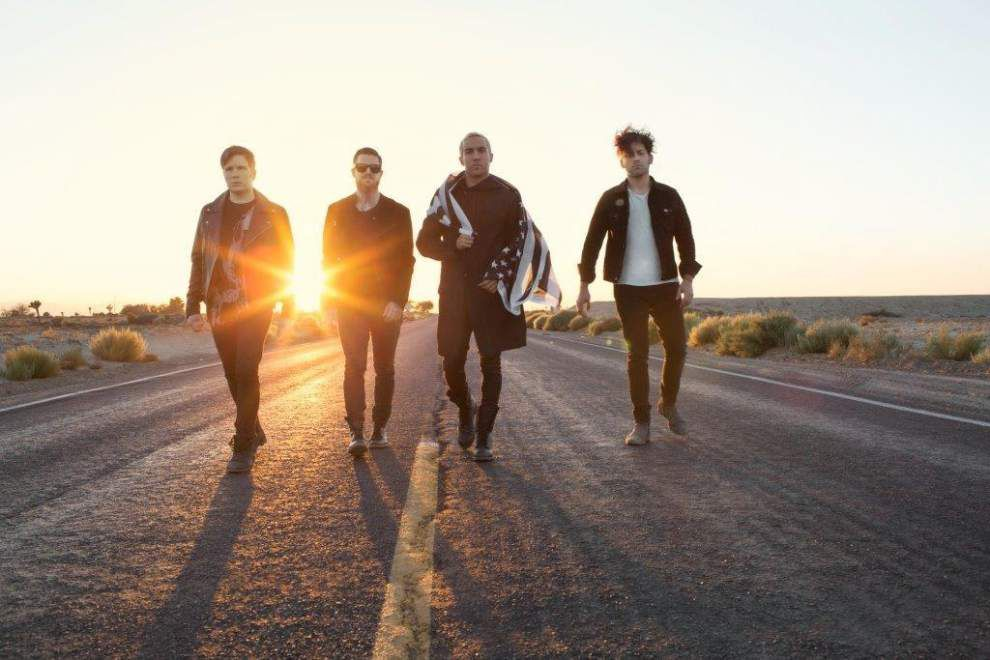 Fall Out Boy to play Smoothie King Center in March _lowres