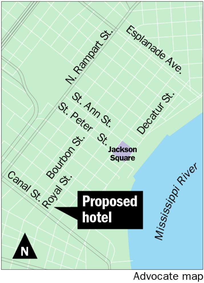 French Quarter groups file suit to block high-rise hotel in 100 block of Royal Street _lowres