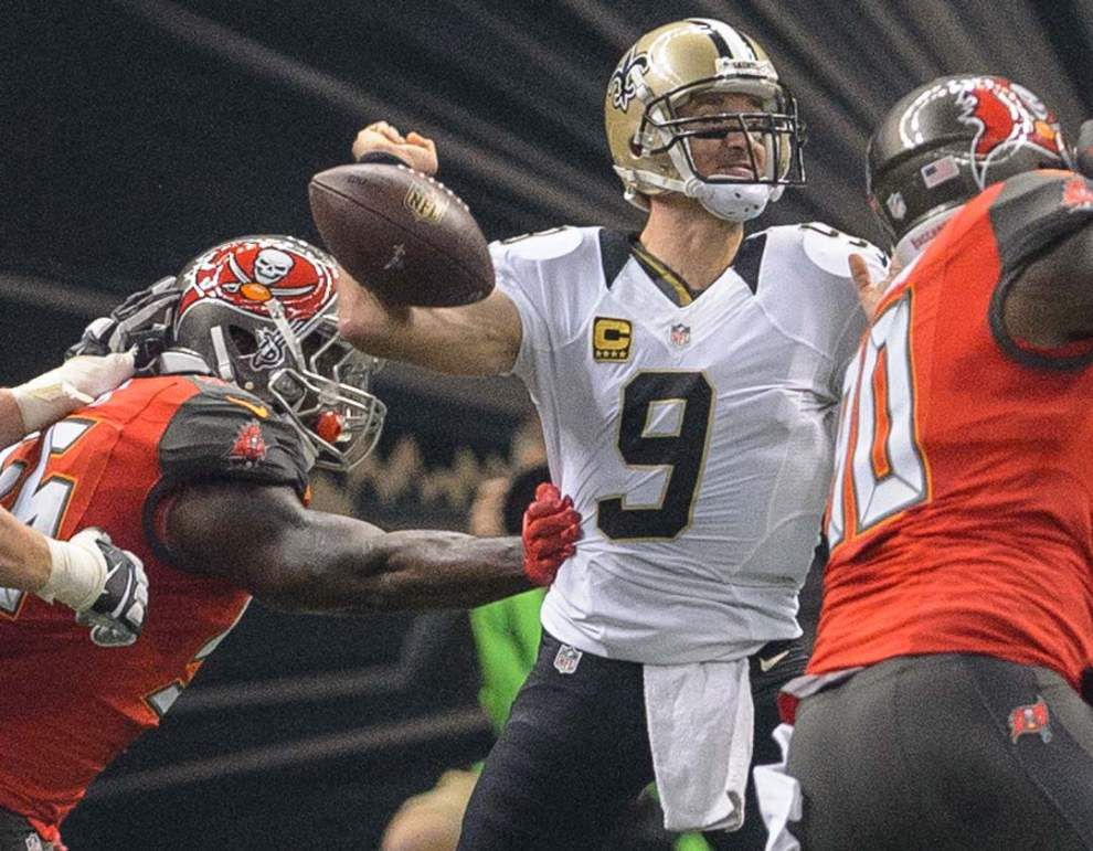 After getting second opinion, Saints quarterback Drew Brees thinks he could play against Carolina, ESPN reports _lowres
