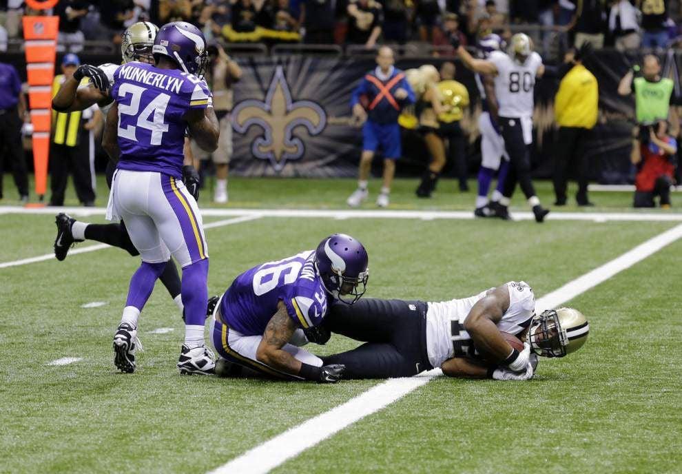 Live updates: Minnesota Vikings at New Orleans Saints _lowres