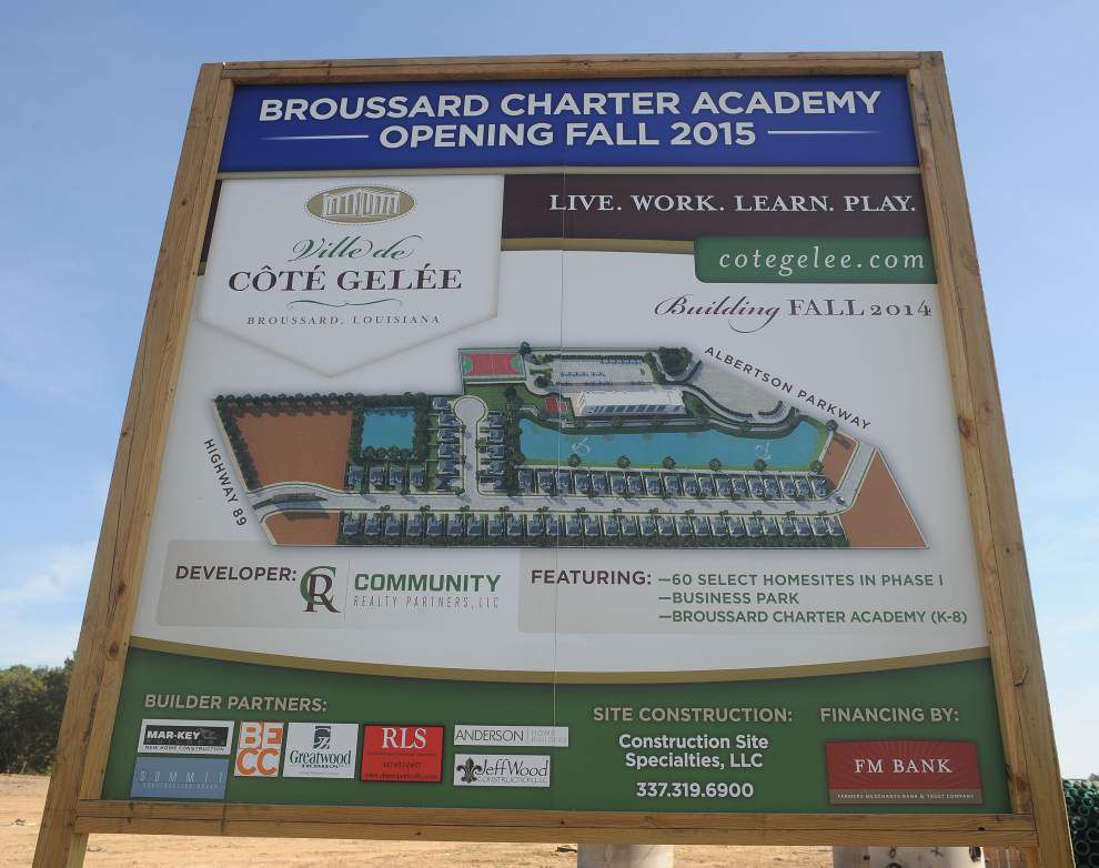 Broussard Charter Academy plans on track to open next year _lowres