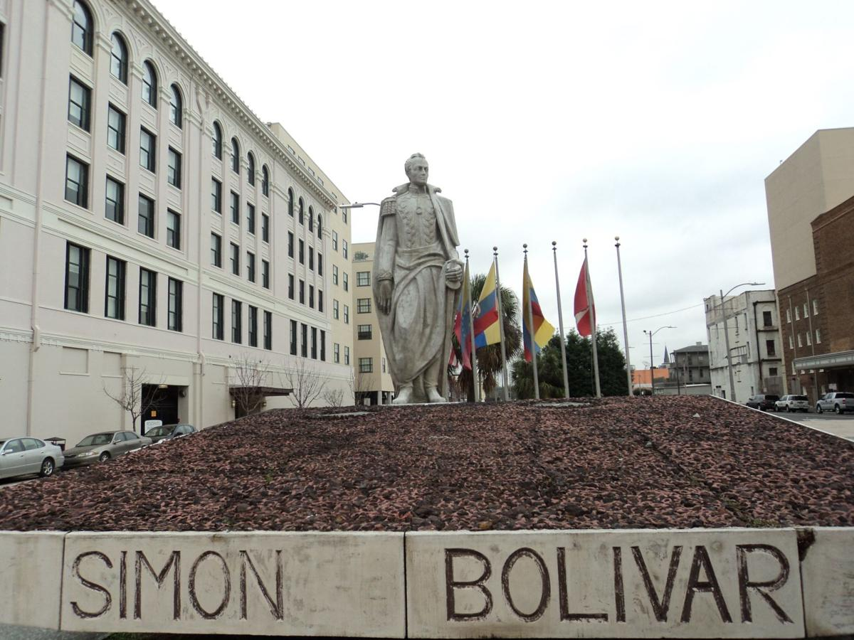 Blakeview: The Simon Bolivar statue_lowres