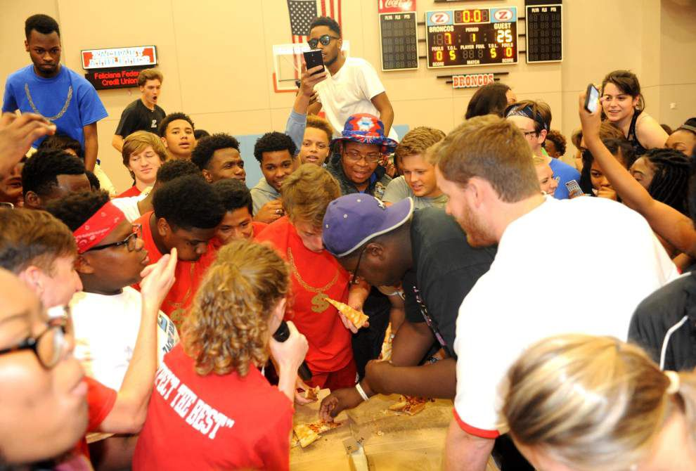 Zachary boys, girls square off during challenge week _lowres