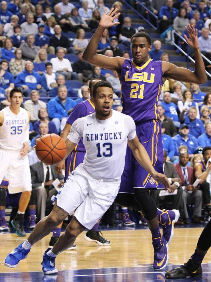 'A lot of leading by talking and not leading by example,' LSU guard Antonio Blakeney says after LSU basketball falls at Kentucky _lowres