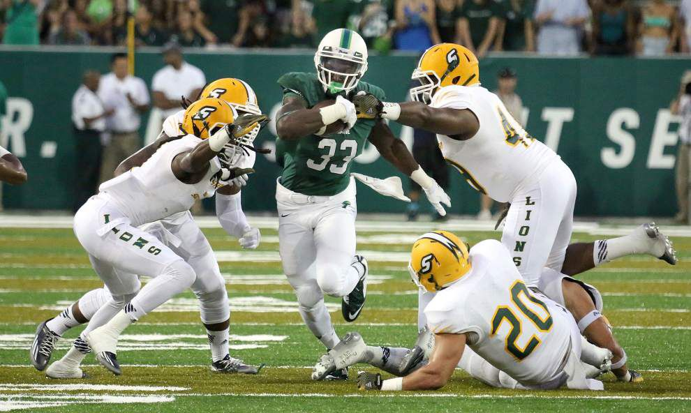 Go to the Next Level on the Tulane-Army matchup: Here's what the Green Wave hopes to get out of RB Lazedrick Thompson _lowres