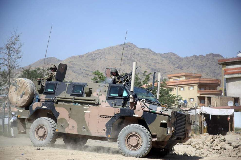 U.S. official: Americans killed in Afghan attack _lowres
