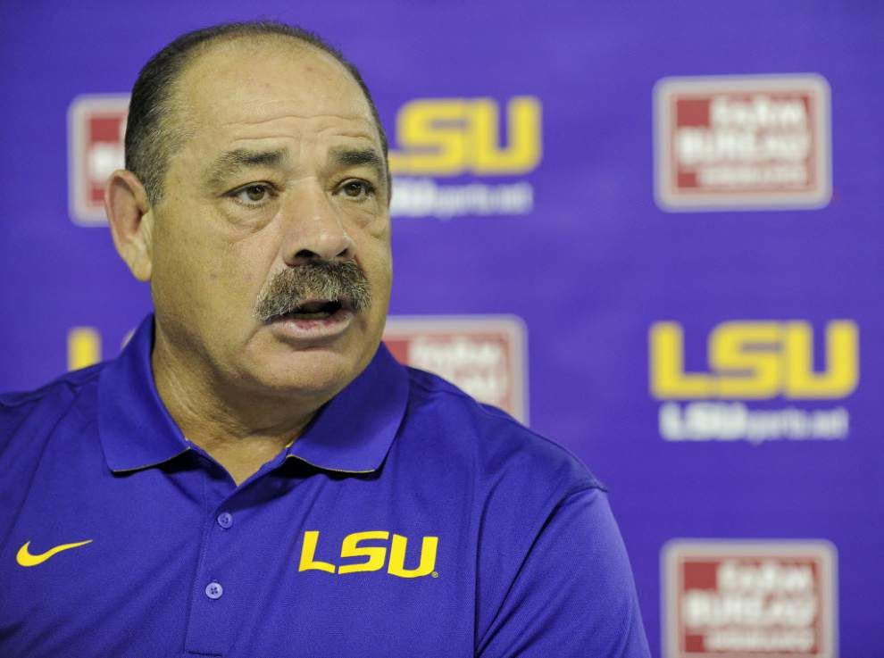 LSU claims significant victory after Texas judge dismisses John Chavis' case against school _lowres