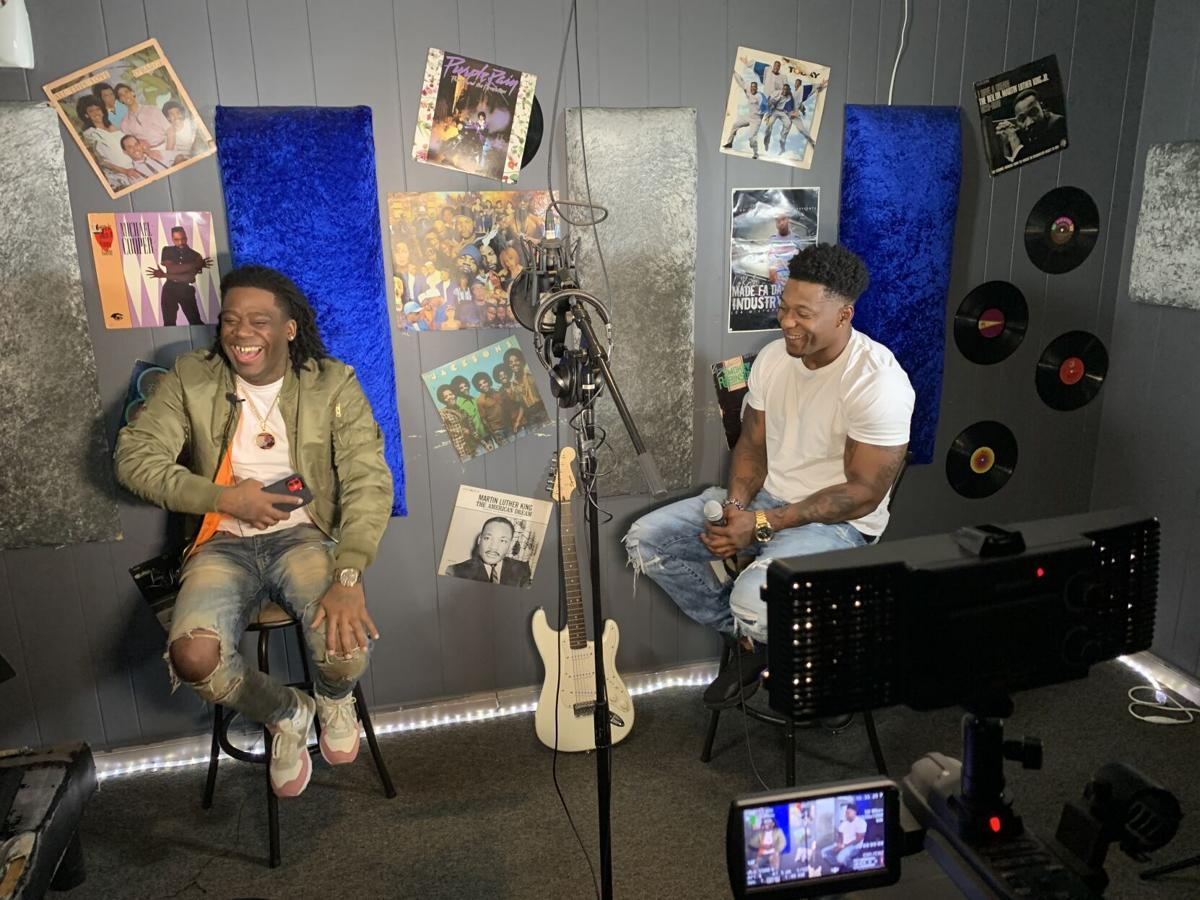 Go With The Flow Baton Rouge Rapper Johnny Hustle Hosts New Local Entertainment Show Music Theadvocate Com