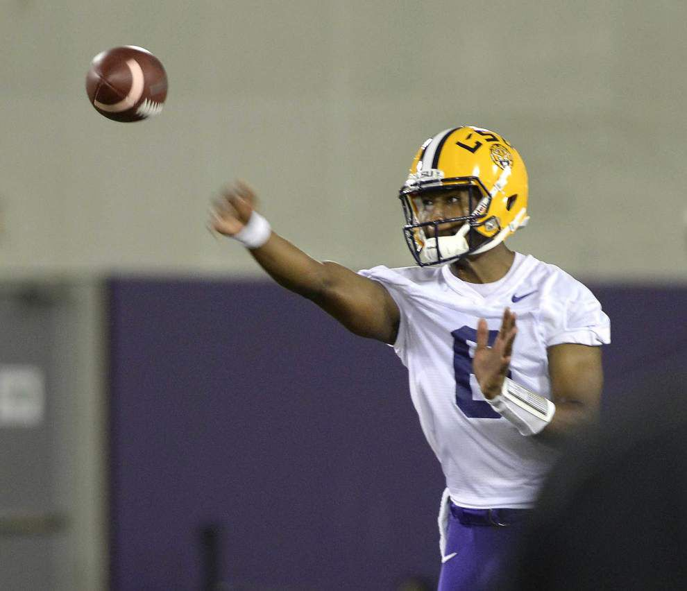 Ready to compete: After Year 1 on scout squad, QB Danny Etling battling starter Brandon Harris _lowres