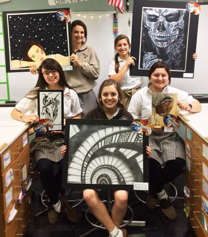 Mount Carmel Academy fall art show highlights creativity, inspiration _lowres