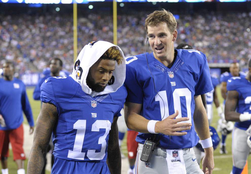 Lewis: Newman High still loves Eli Manning and Odell Beckham Jr., but the Saints remain tops _lowres