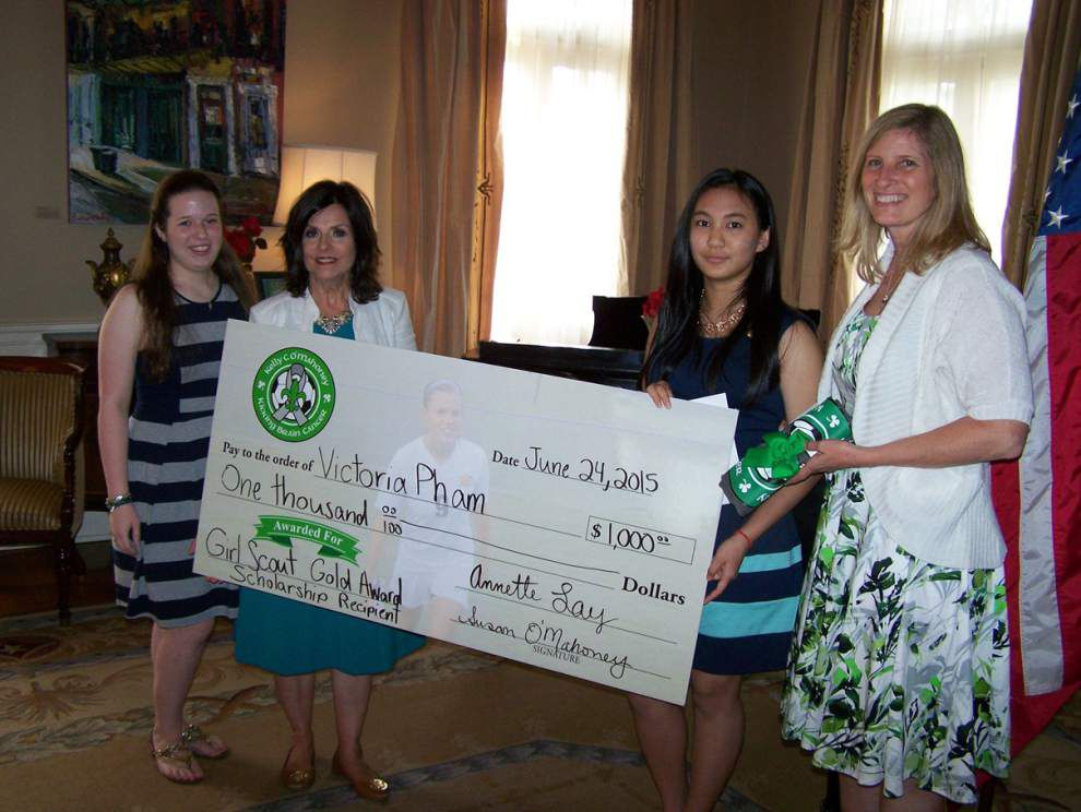 Girl Scout council honors two Gold Award recipients _lowres