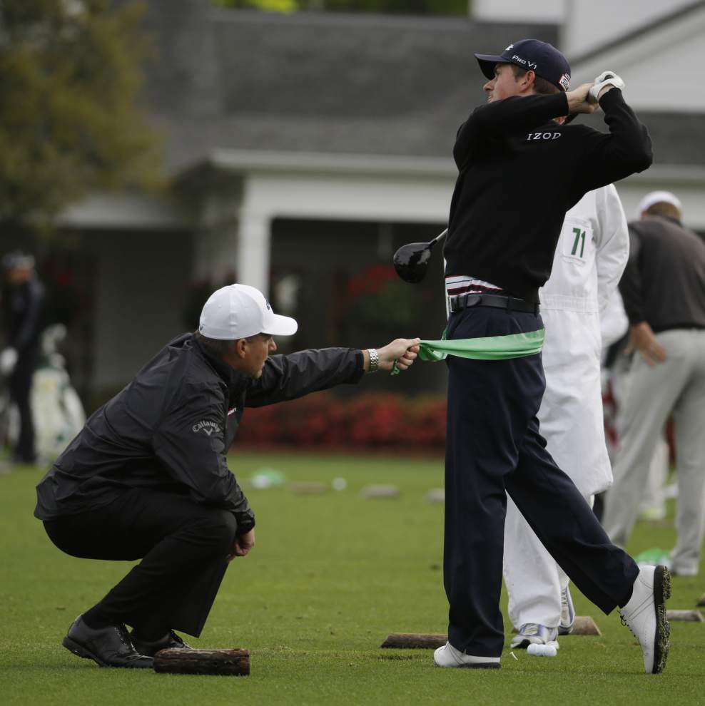 Rabalais video blog: Rains make for a soggy first day at The Masters _lowres