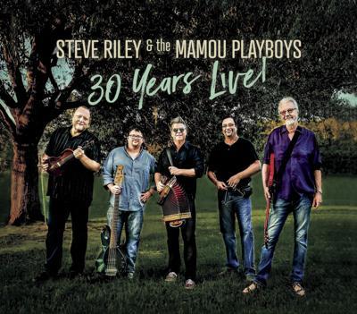 Steve Riley album cover