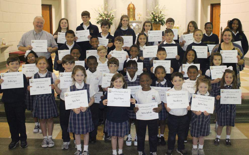 Sacred Heart honors award recipients _lowres