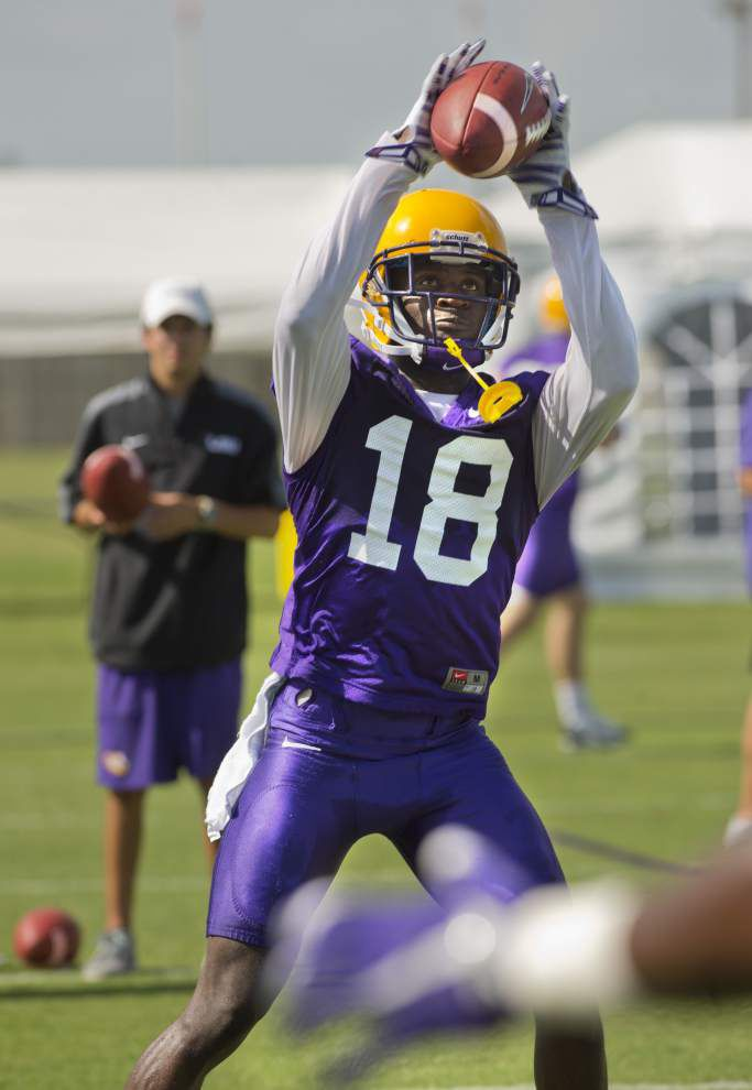 LSU defensive back Tre White on No. 18: 'I plan on doing some great things in it' _lowres