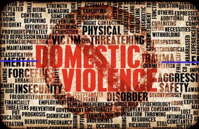Domestic violence stock