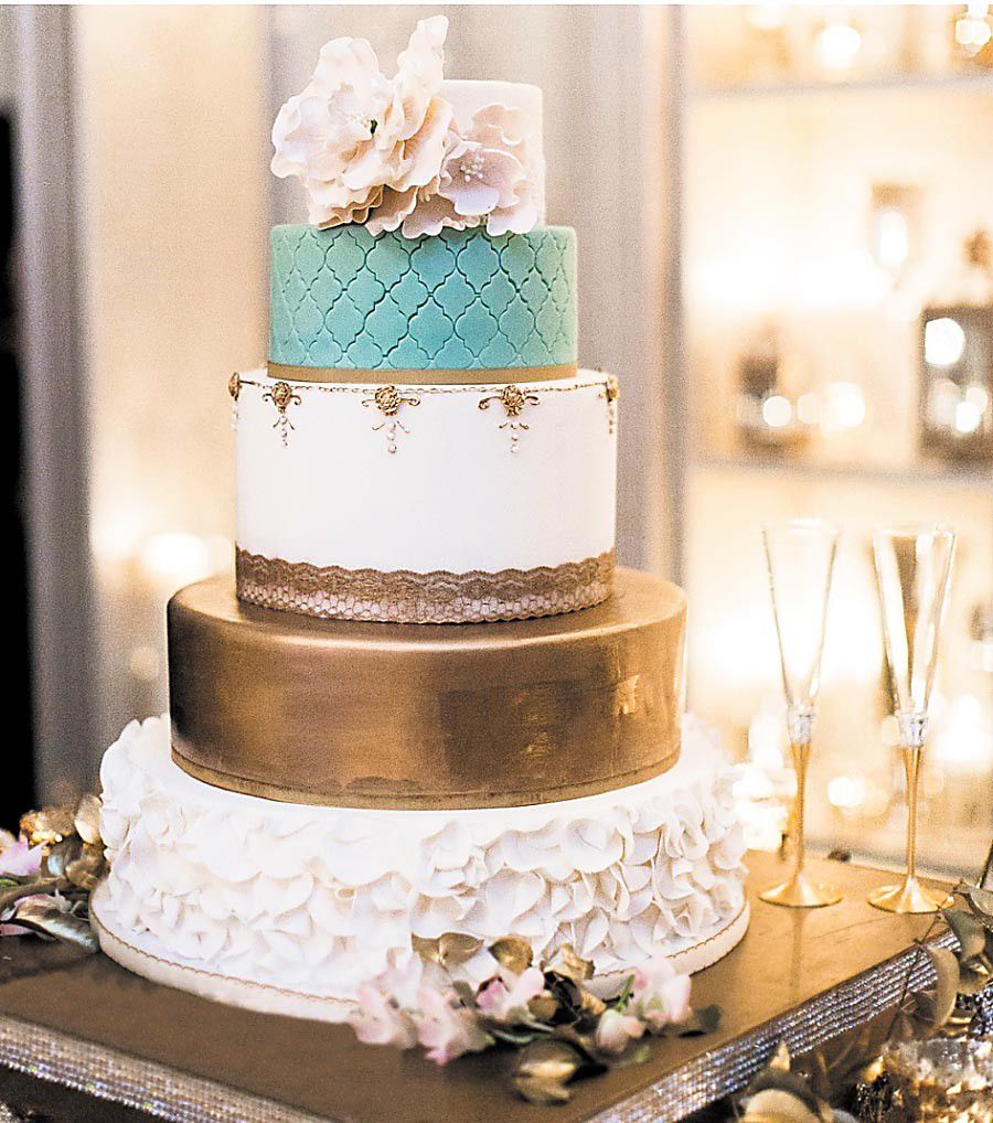 Taking the cake: wedding cake trends in 2017_lowres