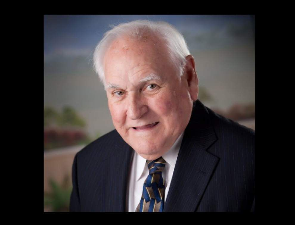 Ascension School Board member A.J. Nickens calls it quits after 37 years _lowres