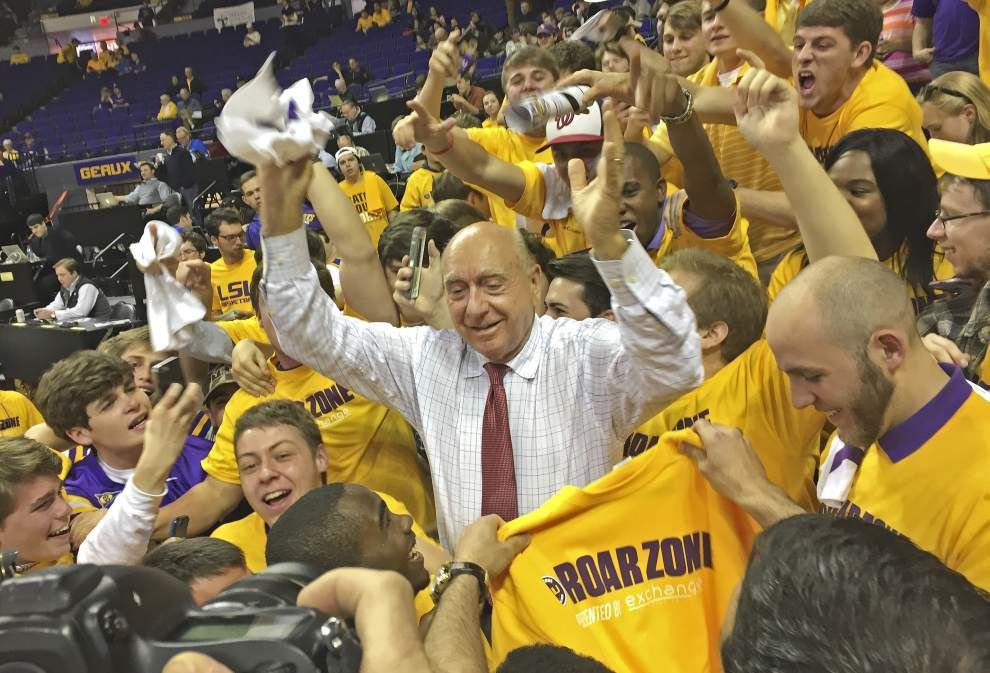 Vitale believes LSU has firepower to KO Wildcats, earn NCAA bid _lowres