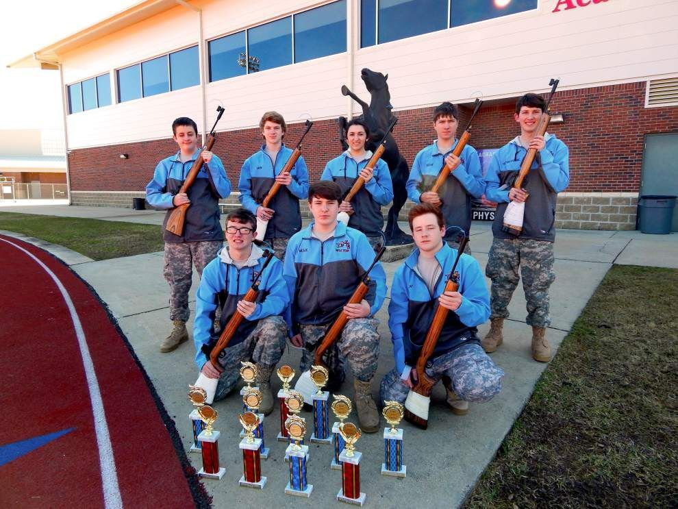 Zachary High rifle team shoots to top in state _lowres