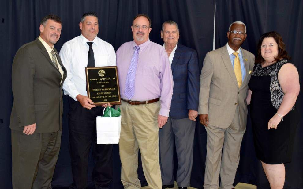 St. Charles Parish honors its employee of the year _lowres