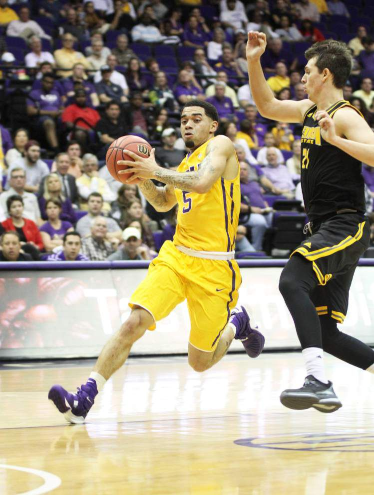 LSU guard Josh Gray makes the most of his minutes _lowres