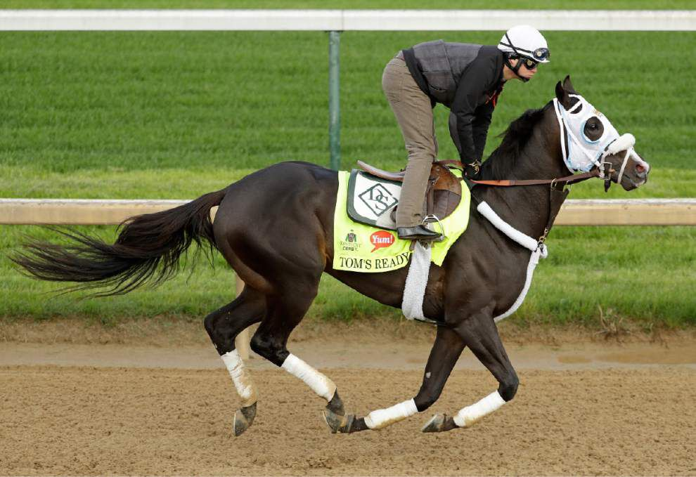 Team Benson thrilled by chances of Mo Tom and Tom's Ready in Saturday's Kentucky Derby _lowres