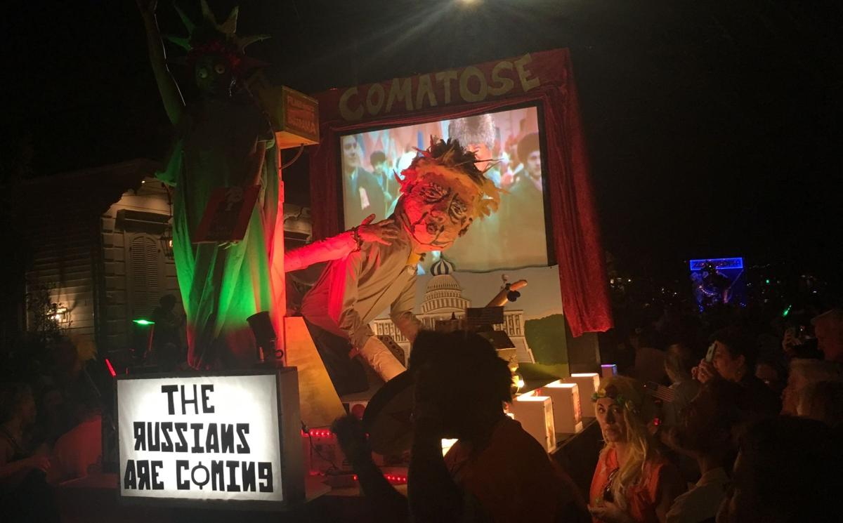 Krewe du Vieux sends up the world in a crowd-pleasing, profane parade_lowres